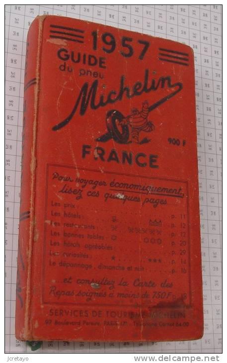 Michelin France Rouge De 1957, Ref Perso 356 - Michelin (guides)