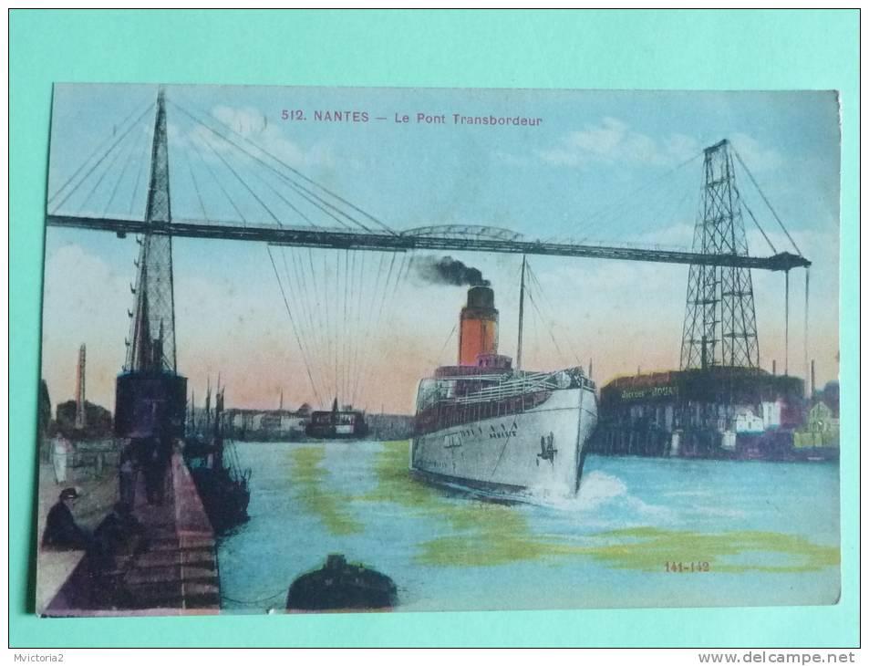 NANTES - Le Pont Transbordeur - Nantes