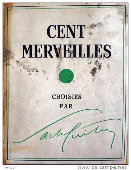 Revue Cent Merveilles Choisies Par Sacha Guitry - 1954 - Art