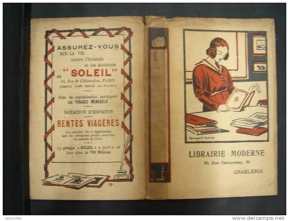 BuAut. 20. Protège Livre Avec Publicité Librairie Moderne à Charleroi. - Autres