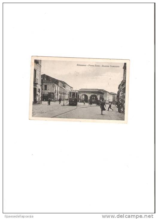 CATANZARO-1932- PIAZZA ROMA -STAZIONE TRANVARIA- - Catanzaro