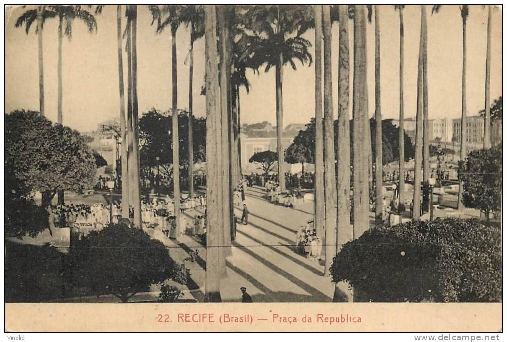 Réf : A -13- 1577 : Recife - Recife