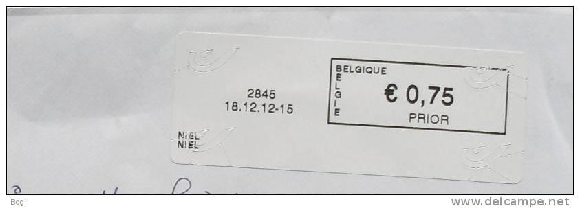 België 2012 Niel 2845 - Nieuw Logo Bpost - Frankeervignetten