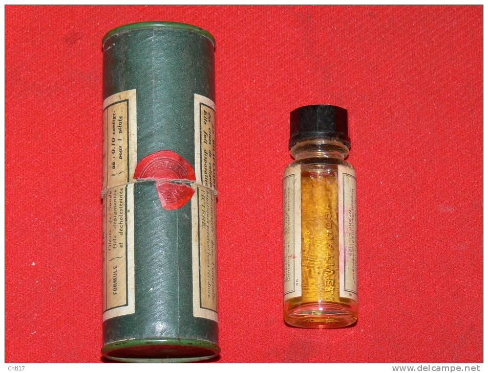 """DEUX   MEDICAMENTS ANCIENS 1950 """" BILIFLUINE"""" ET """"OUABAINE ARNAUD """"    METIER DOCTEUR  Et  PHARMACIEN - Scatole"""