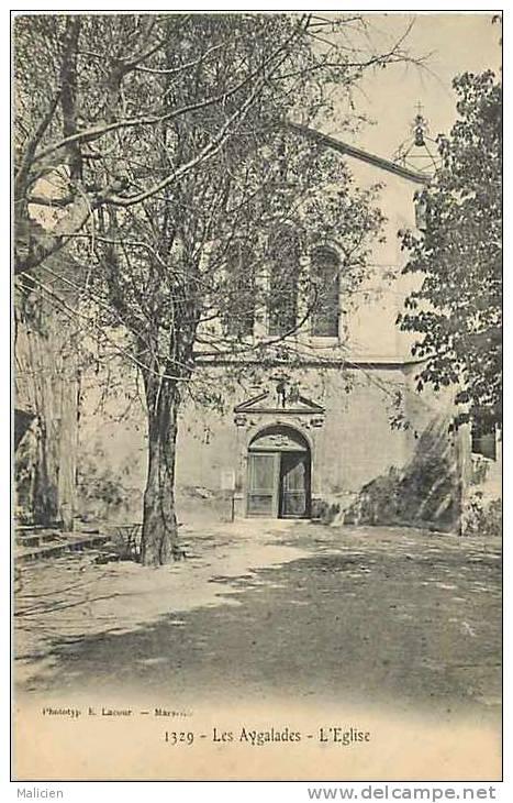 Depts Divers -bouches Du Rhone-ref E849- Les Aygalades - L Eglise -quartier Du 15eme Arrondissement  - - Autres