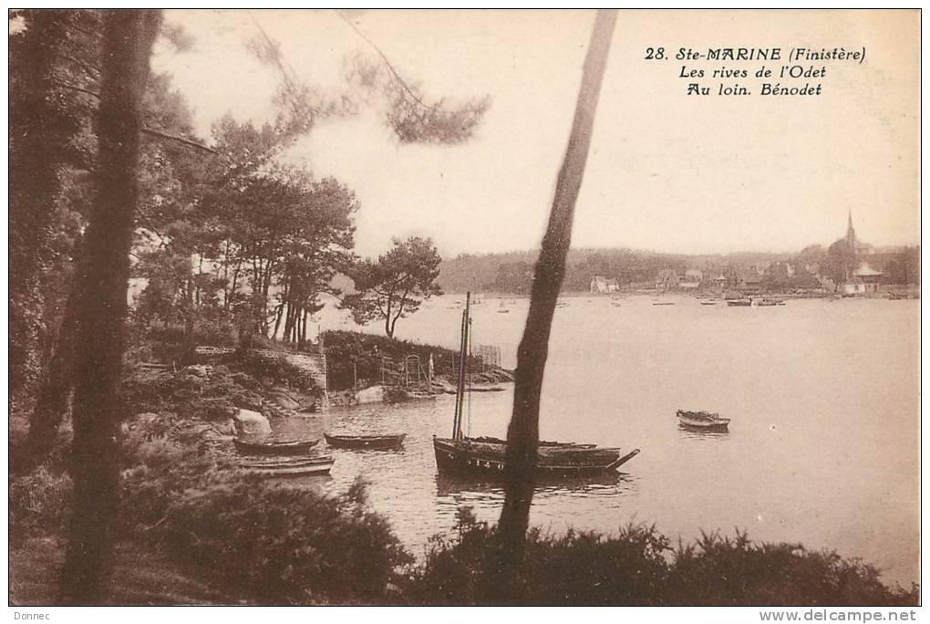 L'Odet à Sainte Marine