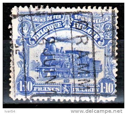 BELGIE : TR72 , FRANKEN, Gestempeld Oblitéré, 1915, - 1915-1921