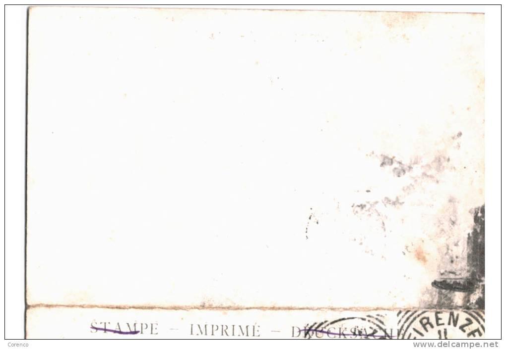 10667   FIRENZE  FLORENCE   Palazzo Vecchio      Double Carte   1905 - Italia