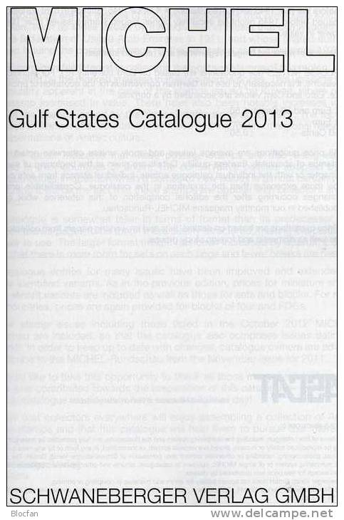 MICHEL Stamp Of Gulf-States Naher Osten UAE Katalog 2013 New 89€ Arabia Countrys Part 10 In English Catalogue Of Germany - Unclassified