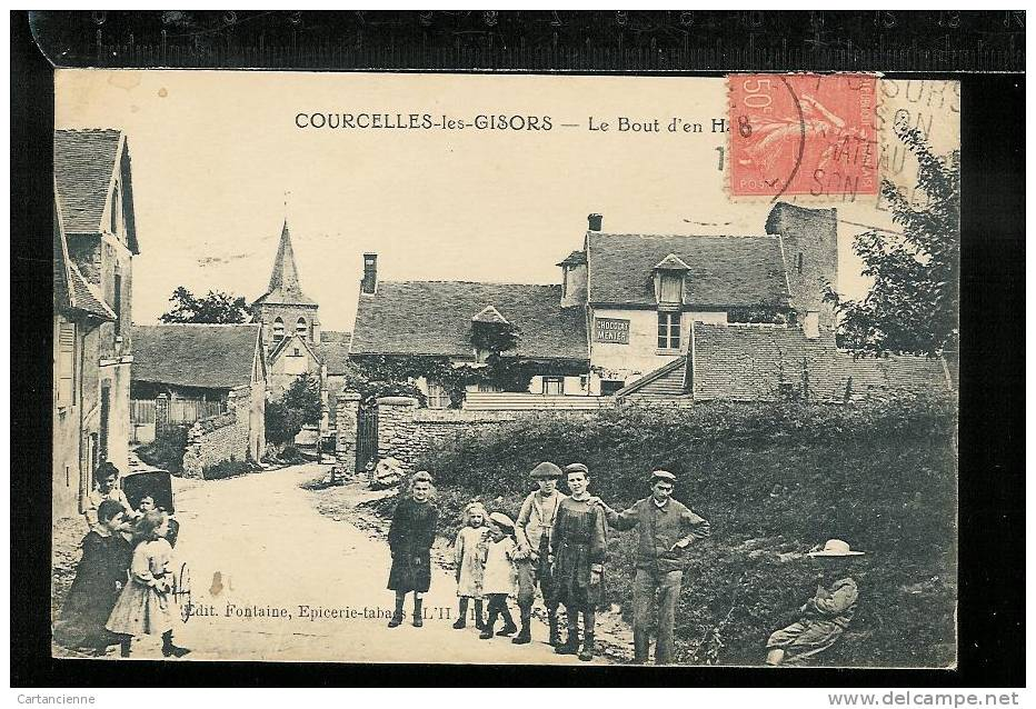 COURCELLES-LES-GISORS - Le Bout D'en Haut - Interieur Du Village - Otros Municipios