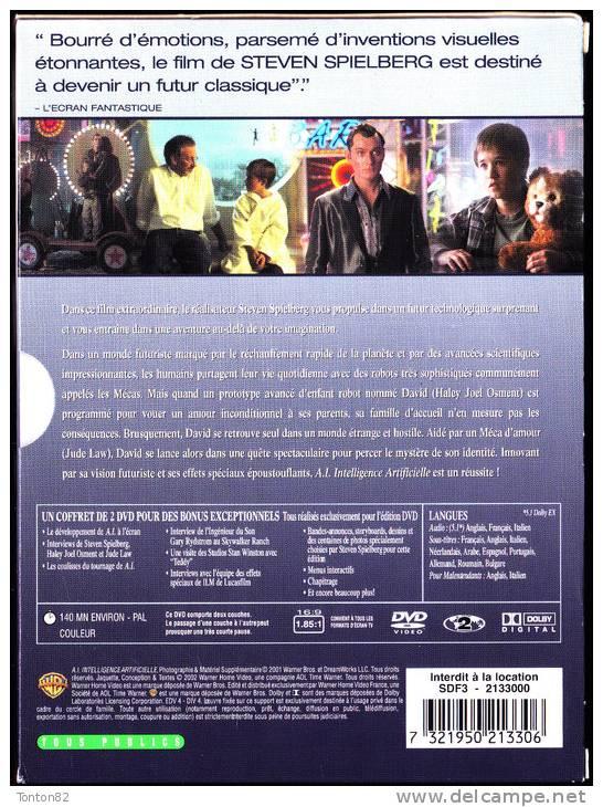 """Haley Joel Osment / Jude Law - """" A.I """" - Intelligence Artificielle - De Steven Spielberg - ( Coffret 2 DVD ) - Sci-Fi, Fantasy"""