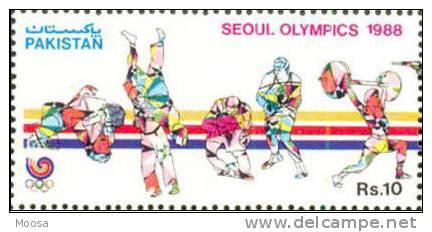 HANDBALL, VOLLEYBALL, SOCCER, SEOUL OLYMPICS, SPORTS, R10, MNH 1988 - Zomer 1988: Seoel