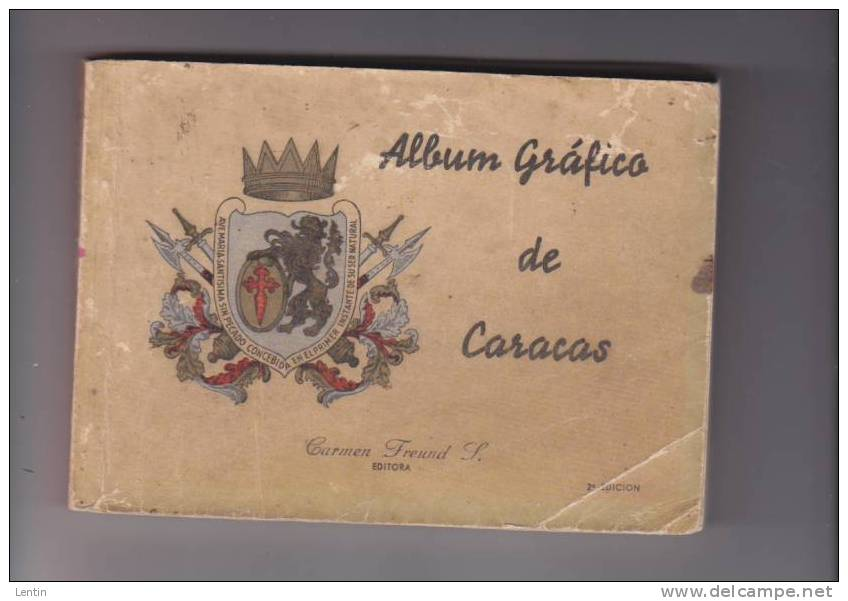 Caracas Venezuela - Guide Illustré Circa 1950 - Album Grafico - Environ 100photos Dim 11 X 16 Cm - - Livres, BD, Revues