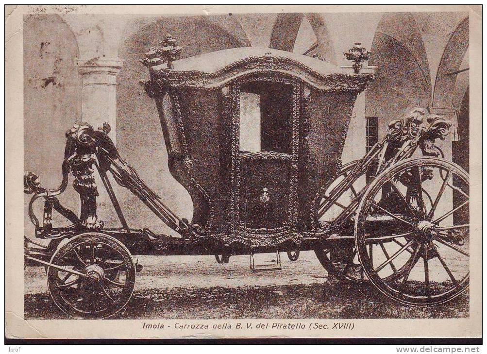 Imola, Carrozza Sec. XVIII° Della Madonna Del Piratello - Taxi & Carrozzelle