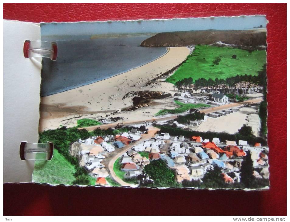 22 - SAINT CAST PLAGES - PETIT CARNET DE 10 PHOTOS - ( Camping , Hotel, Le Camp....) - Saint-Cast-le-Guildo