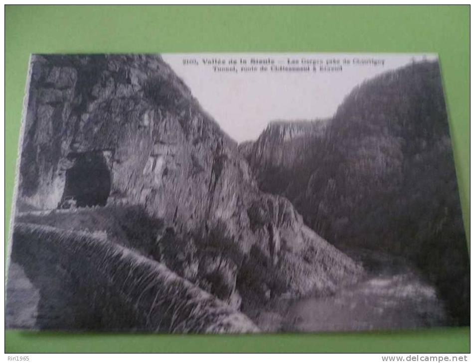 03- Vallée De La Sioule Les Gorges Près De Chouvigny Tunnel Route De Chateauneuf A Elbreuil - France