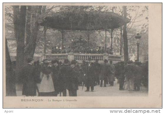 BESANCON (la Musique A Granvelle ) - Besancon