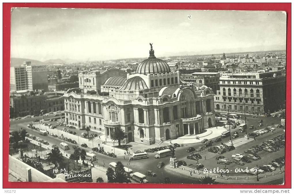 JPX-18 Mexico  Circulated In 1949 Per La Suiza - Mexique