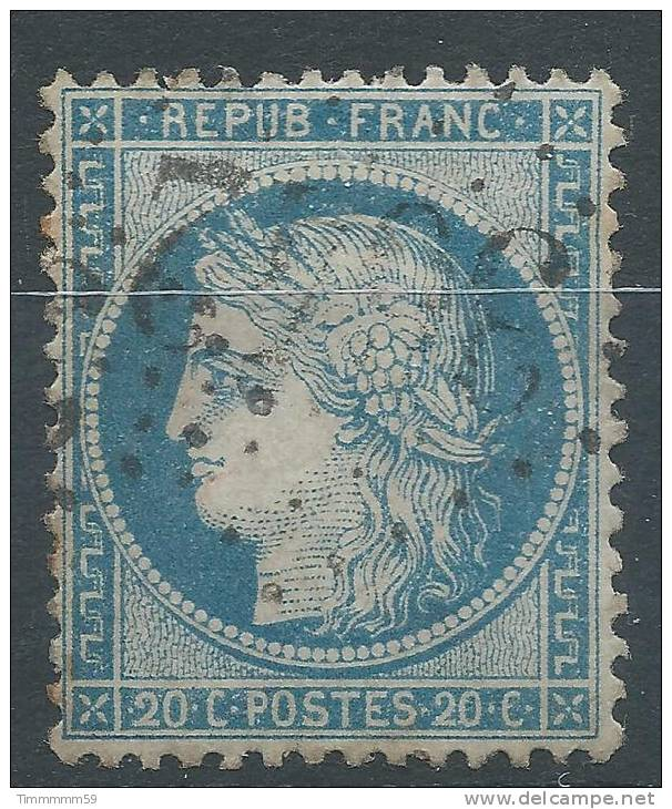 Lot N°21576   N°37, Oblit GC 3642 ST GERMAIN-LESPINASSE(84), Ind 6 - 1870 Siege Of Paris