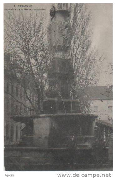 BESANCON (.fontaine De La Place Labouree ) - Besancon