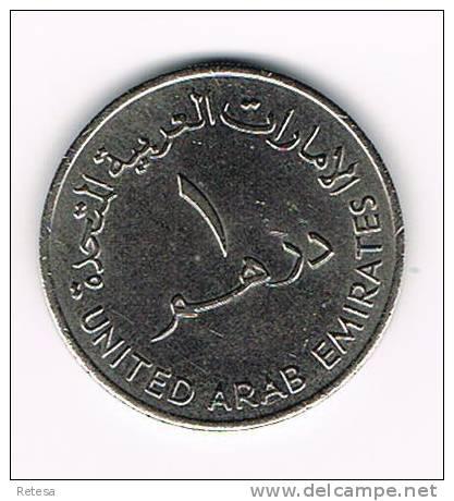 UNITED ARAB EMIRATES  1 DIRHAM 1973 - Emirats Arabes Unis