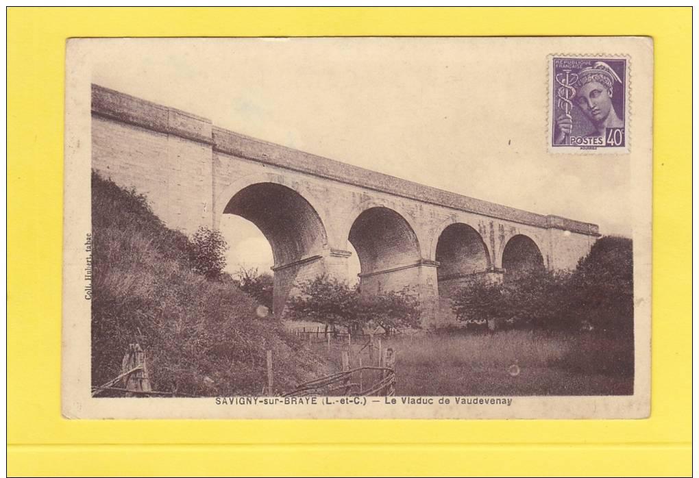 CPA - SAVIGNY Sur BRAYE - Le Viaduc De Vaudevenay - France