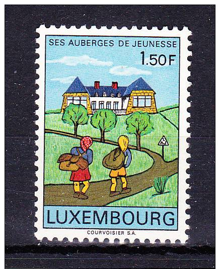 LUXEMBOURG  1967 ,  Inns For Youngs  ,  Y&T  #  706  , Cv  0,25  E , ** M N H , V V F - Luxembourg
