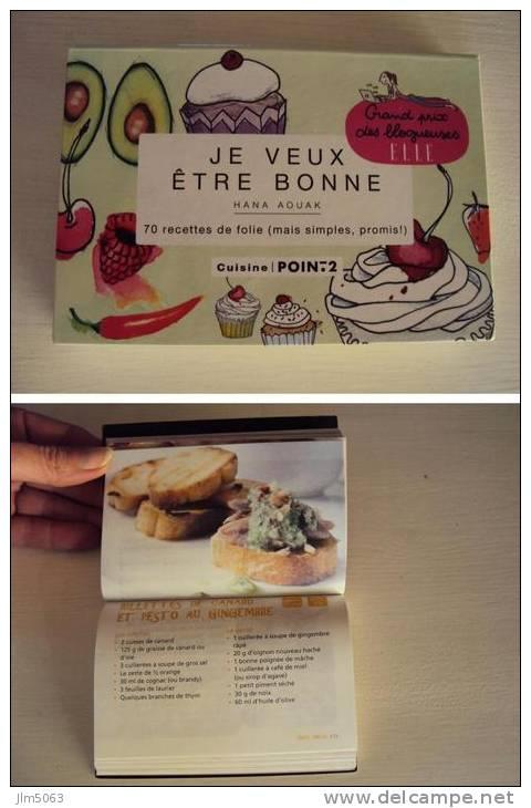 MINI LIVRE RECETTES JE VEUX ETRE BONNE Neuf - Gastronomie