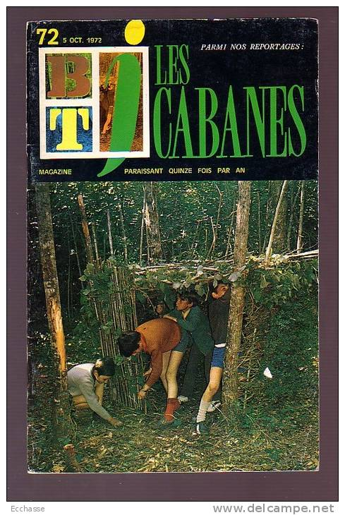 BT J  Bibliothèque De Travail 394 Les Cabanes - Livres, BD, Revues