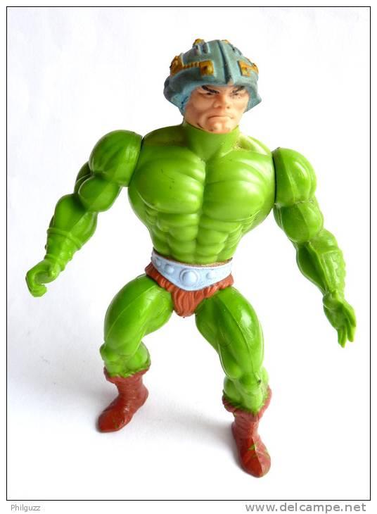 FIGURINE MAITRES DE L´UNIVERS - HE-MAN -  MOTU - MASTER OF UNIVERSE - MAITRE D´ARMES - MAN AT ARM 3 Incomplet - Maîtres De L'Univers