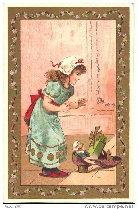 Image Publicitaire - MANUFACTURE DE CHAUSSURES - Gustave LAFITTE - Chromos