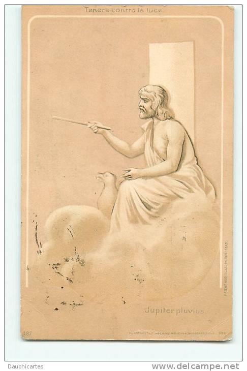 CONTRE LA LUMIERE - Le DIEU JUPITER : Il Peint Son Tableau  -  Précurseur  - 2 Scans - Contre La Lumière
