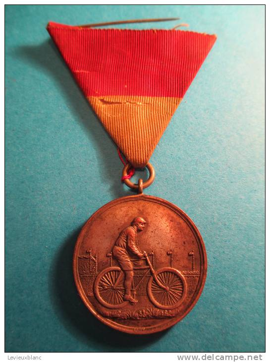 """Course De Vélo/ Second Prix/ """"II Preis""""/ Allemagne ? /Alsace ?/ Cycliste / Vers 1895-1900   D129 - Cyclisme"""