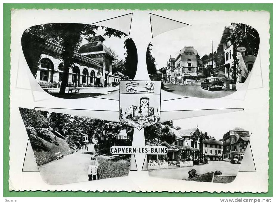 65 CAPVERN-les-BAINS - Les Thermes - Vue Partielle De La Ville - Frankrijk