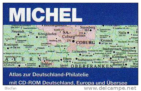Atlas Of The History-Philatelie MlCHEL 2013 New 79€ With CD-Rom Postgeschichte A-Z Nummern-Stempel Catalogues Of Germany - Creative Hobbies