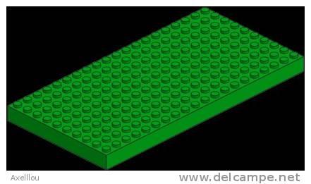 Plaque De Base 10 X 20 Verte LEGO (700) - Lego System