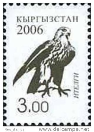 Kyrgyzstan 2006 Definitive Issue Falcon 3.00 1v MNH - Kyrgyzstan