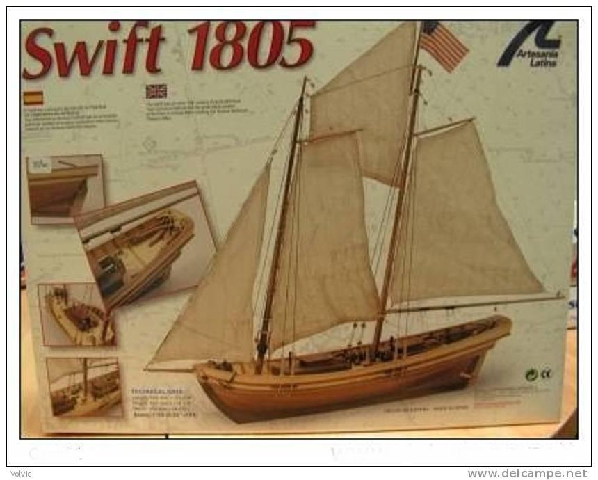 Artésania Latina - SWIFT 1805 - 1/50°- Bâteau Bois - Artesania - Bâteaux