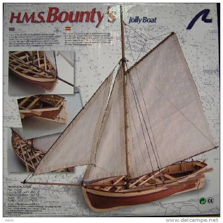 Artésania Latina - H.M.S BOUNTY'S - 1/25°- Bâteau Bois - - Bâteaux