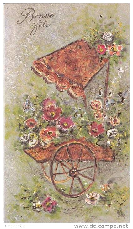 Sainte Catherine - Bouquet De Fleurs - Feiern & Feste