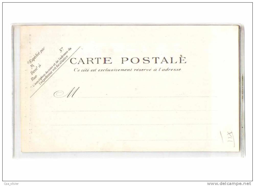 75 PARIS XII Administration Compagnie Chemins De Fer Du PLM, Entrée, Ed PPC 389, Dos 1900 - Arrondissement: 12