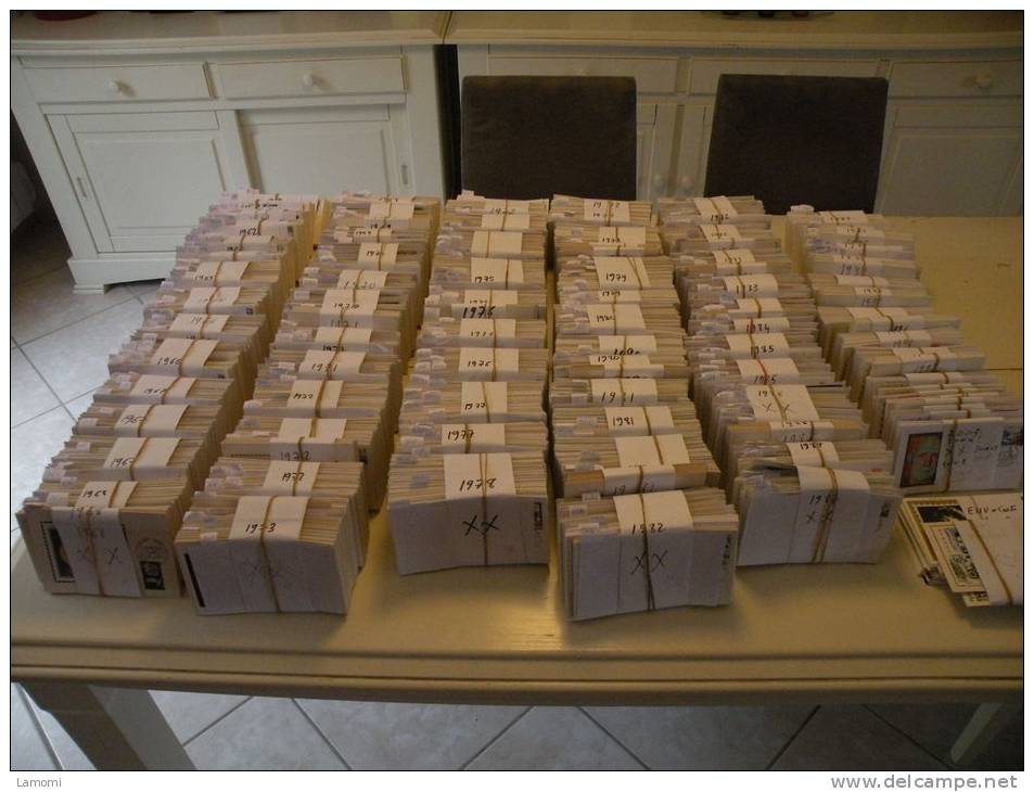 Lot FDC France Environs 7506 Envs + Carte Maxi 1950 à 2005 + De 21 000 € - Lot 1 Er Jours - France
