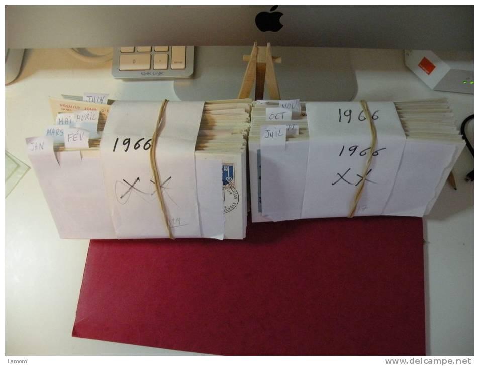 Lot FDC France Environs 7506 Envs + Carte Maxi 1950 à 2005 + De 22 000 € - FDC 1er Jours - France