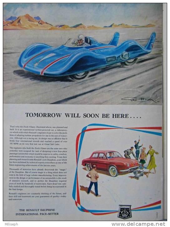 Magazine LIFE - JUNE 10 , 1957 - INTER. ED. - Publicités  RENAULT DAUPHINE , SABENA ... - VIETNAM -    (3052) - Nouvelles/ Affaires Courantes