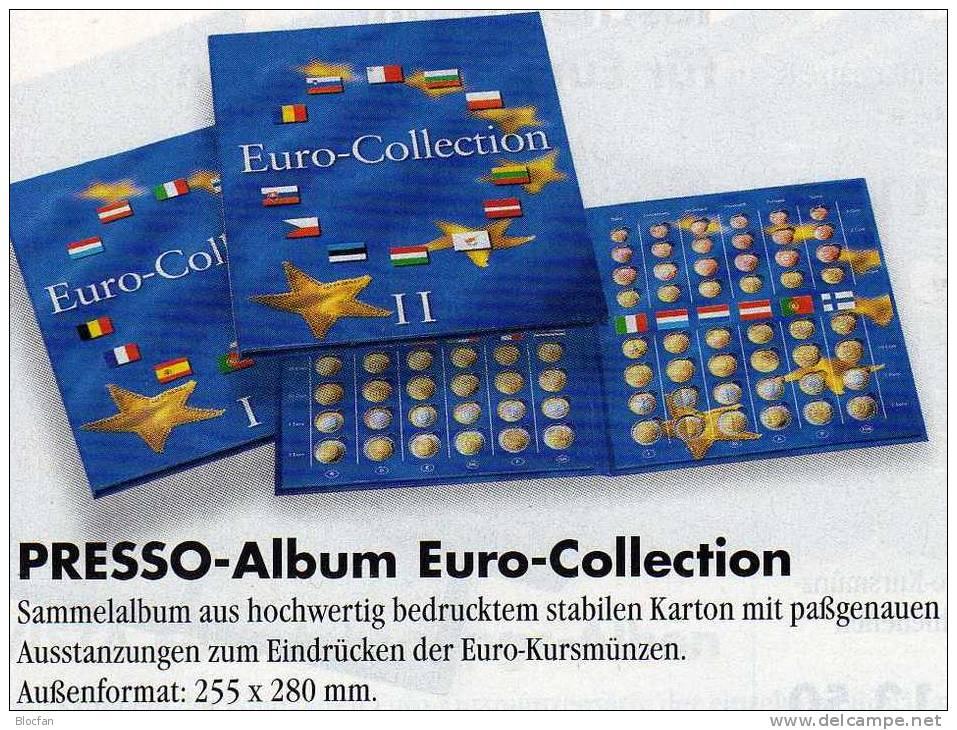 Münz-Album Band 2 Für €-Sets Ab 2008 Neue EURO-Länder 9€ Für 12 Sätze BG CZ CY EST LV LT H M PL RO SLO SK Zum Einclicken - Unclassified