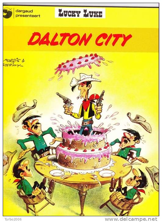 LUCKY LUKE : DALTON CITY 1979 - Lucky Luke