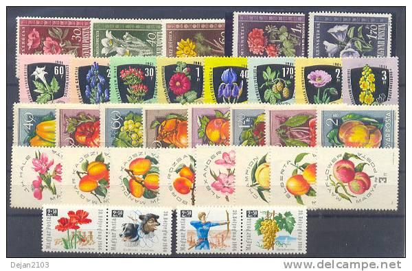 Hungary Flora 5 Complete Series MNH ** - Non Classés