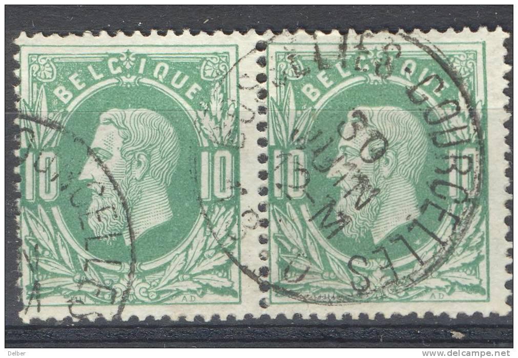 _Me068: N°30: E9: GOSSELIES-COURCELLES - 1869-1883 Leopold II