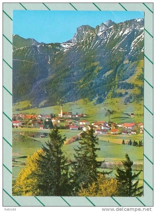 CPM  ALLEMAGNE  -  PFRONTEN  -  4346  Pfronten, Die Perle Des Allgäus Mit Aggenstein Und Breitenberg  ( En 1985 ) - Pfronten