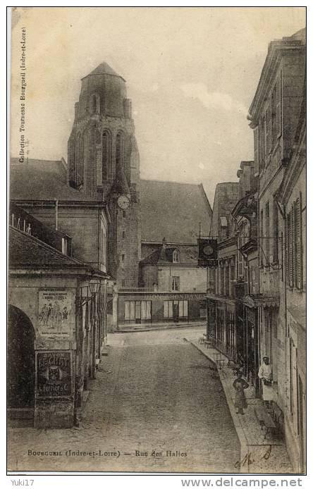37 BOURGUEIL RUE DES HALLES NOUVEAUTES DION ABONDANCE - France
